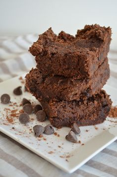Better than Starbucks- Double Chocolate Brownies