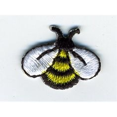 Image result for bumble bee iron on patch big