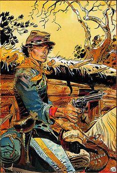 Jean Giraud Moebius, Moebius Art, Western Comics, Western Art, Westerns, Illustrations, Illustration Art, Serpieri, Navajo Art