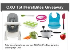 Carrot Apple Mango Puree | OXO Tot #FirstBites Giveaway | It Bakes Me Happy