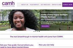 The Centre for Addiction and Mental Health (CAMH) is Canada's largest mental health and addiction teaching hospital and a world leading research centre in this field. Agent Of Change, Donate Now, Brave, You Got This, Foundation, Teaching, Night, Health, Health Care