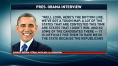 Obama Interview with the Rev.