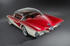 1956 Buick Centurion 3: Flight-Ready! '57 Buick meets '63 Stingray. I love it!