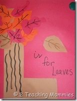 Leaves unit study, crafts, lesson plans and printables.  #homeschool #preschool #printables #kindergarten Perfect for fall!
