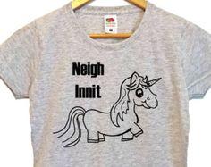 Unicornio de deber camiseta unicornio camisa caballo por MoodCatz
