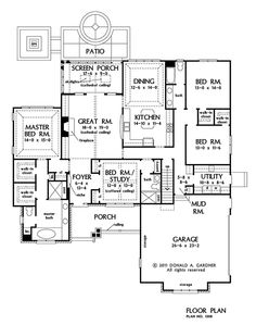 The Gladstone House Plan Images   See Photos Of Don Gardner House Plans