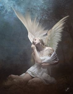 The Angel of the Earth II by RazielMB