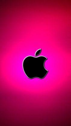 Iphone Wallpaper Iphone X, Iphone Logo, Pink Iphone, Cellphone Wallpaper, Locked Wallpaper, Pink Wallpaper, Apple Iphone, Iphone Video, Apple Background