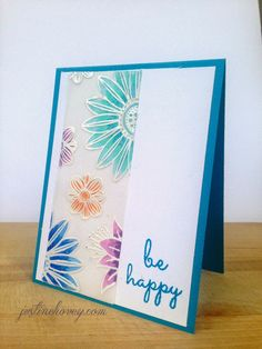3 Cards, 1 Stamp Series, Create a Smile's Botanical Love Stamp set *Day 2* Vellum & Copic   Justine's Cardmaking