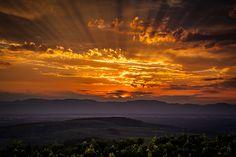 'Kaiserstuhl' Sunset by André Heid on 500px