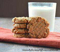 Serena Bakes Simply From Scratch: Flourless Peanut Butter Cookies