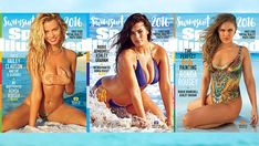 History in the making: Ronda Rousey, Ashley Graham & Hailey Clauson each score a SI Swimsuit 2016 cover!