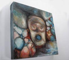 Aia Leu 'Volcano Spirit' http://www.aialeu.com/paintings/volcano-spirit