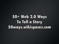50 Web 2.0 Ways to Tell a Story and other web 2.0 tools for students (look at the list on the right side of the page) courtesy of a 5th grade class blog at an American school in Singapore
