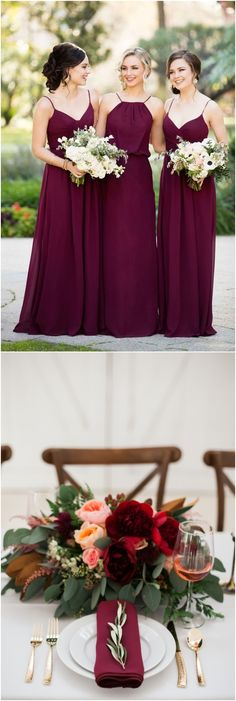 Greenry and burgundy fall winter wedding color ideas #weddingideas #weddingcolors #wedding #greenwedding #greenery #weddingtrends #wedding2018 http://www.deerpearlflowers.com/greenery-wedding-color-palettes/