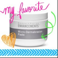 This microdermabrasion paste will leave your face feeling smoother than a baby's bottom!! Contact me to receive 10% off and free shipping! https://brittanybalog.myrandf.com/