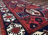 Persian Hamadan Oriental Runner Rug 4'6X8'1