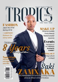 Home Page - Tropics Magazine Travel Specials, French Online, 8th Anniversary, Lifestyle Trends, Beauty Advice, Print Magazine, Upcoming Events, Business Fashion, Order Prints