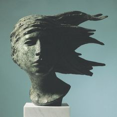 Papel Cult — Ralph Brown Wild Is The Wind, Sculpture Head, Female Head, Art And Architecture, Online Art Gallery, Sculpting, Statue, Drawings, Face