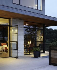 Hill Country Residence - modern - patio - austin - Cornerstone Architects