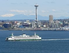 """Seattle... """"I've always had a thing for ferry boats"""" #greysanatomy"""