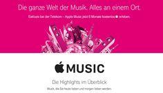 """Apple Music: 6 Monate kostenlos bei Telekom - https://apfeleimer.de/2016/09/apple-music-6-monate-kostenlos-bei-telekom - Telekom mit 6 Monate kostenlosem Apple Music Abo! Das Telekom Highlight der IFA 2016 ist sicherlich das kostenlose Upgrade auf LTE max (maximale LTE Geschwindigkeit) für alle Bestandskunden und Neukunden mit LTE Tarifen. Aber auch der neue Telekom Premium Tarif """"MagentaMobil XL ..."""