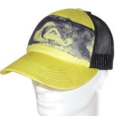 Quiksilver Truckercap Basecap Ocean Side A Gelb - Shop CAPS AND SOX - Lifestyle für Deinen Kopf kaufen