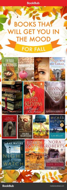 Get in the mood for fall with these book recommendations!