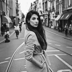 Thank you for shooting me for read my column now in… Amsterdam Outfit, Amsterdam Fashion, Amsterdam Pictures, Tumblr Photoshoot, Women's Shooting, Poses, Girl Inspiration, Black And White Pictures, Photography Women