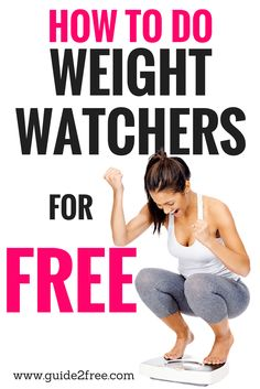 Always wanted to try Weight Watchers but hated the high cost? Then let me show you How to Do Weight Watchers for FREE!
