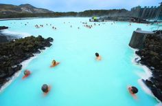 Iceland's Blue Lagoon Spa Bubbles with Nutrient-Rich Geothermal Runoff Water | Inhabitat - Sustainable Design Innovation, Eco Architecture, Green Building