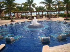 Barcelo Maya Palace Deluxe Family All Inclusive Resort Pool Riviera Maya Mexico