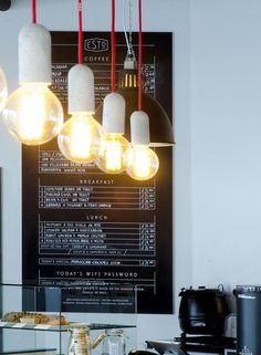 Minimalist Juxtaposed Cafes : coffee shop