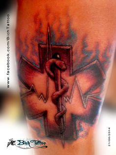 "Tattoo ""Estrella de la Vida"" por Héctor eón - Bich Tattoo"