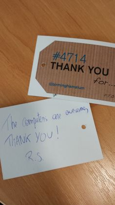 The computers are amazing - thank you! #4714UoB #StudentEngageDay