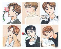 Moomin Wallpaper, Cute Anime Guys, Aesthetic Stickers, Kpop Fanart, Anime Scenery, Beautiful Asian Girls, Nct Dream, Cute Drawings, Cute Art