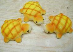 Kawaii Squishy Cute Turtle Melon Bun Squish Charm x1