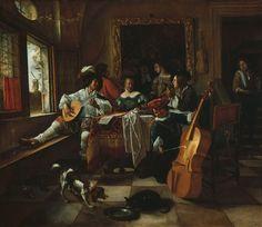 The Family Concert Jan Steen 1666