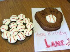 Lane's cake for his Backyard Baseball Bash!