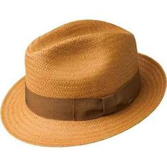 f7ab4b4de0d Bailey Lando Straw Fedora - Cumin Hat - Dapperfam.com Straw Fedora