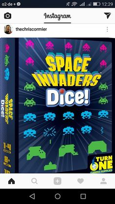 GAME DEPARTMENT: Space Invaders Dice!
