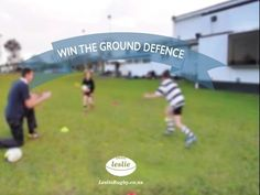 Win the ground defence by LeslieRugby #rugby #rugby #skill #coaching #training #tackle #tackling #running #defender