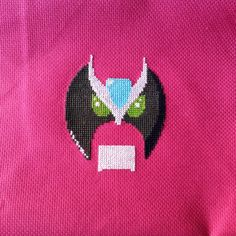 Free Strongbad cross stitch pattern from the Crafting Geek