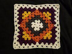 Kaleidoscope Granny Blanket Crochet Along (pt – Tığ işleri-Special Works – Decke Granny Square Crochet Pattern, Crochet Blocks, Crochet Squares, Crochet Granny, Crochet Motif, Crochet Bedspread, Crochet Afghans, Crochet Blanket Patterns, Granny Square Tutorial
