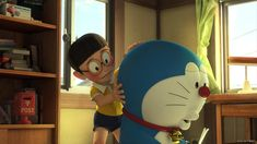 HD wallpaper: Stand By Me Doraemon Movie HD Widescreen Wallpaper.., one person