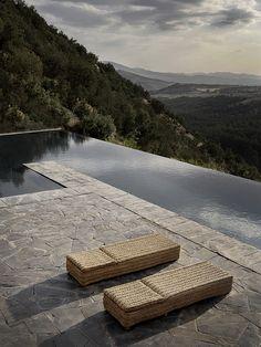 swimming pool (Studio KO, Villa E, Marrakech, ©Dan Glaser) Pool Pool, Pool Water, Pool Backyard, Diy Pool, Pool Landscaping, Infinity Pools, Outdoor Pool, Indoor Outdoor, Outdoor Living