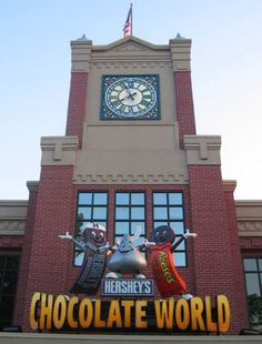 Hershey, PA...a chocolate lovers paradise! Now, why would I want to go here, you might ask.
