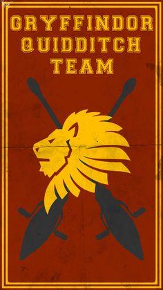 Quidditch Team Poster: Gryffindor by TheLadyAvatar on deviantART