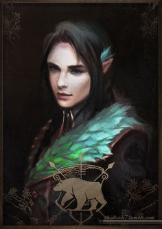 I think Vex'ahlia can use a new fancy portrait - considering that she's a Baroness now apparently (and Grand Mistress of the Grey Hunt :) ) Character Portraits, Character Art, Character Ideas, Elven Queen, Vox Machina, Critical Role Fan Art, Arcane Trickster, Fantasy Paintings, Fantasy Artwork