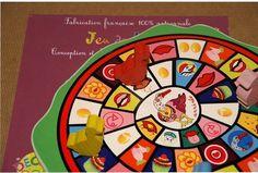 Jeu de l'oie des 5 sens : des défis qui stimulent les 5 sens. Un jeu 100% français et 100% artisanal pour de bonnes parties de rigolade en famille.